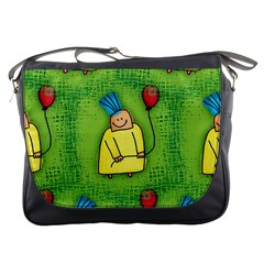 Party Kid A Completely Seamless Tile Able Design Messenger Bags
