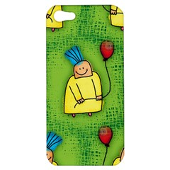 Party Kid A Completely Seamless Tile Able Design Apple Iphone 5 Hardshell Case
