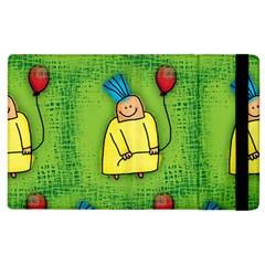 Party Kid A Completely Seamless Tile Able Design Apple iPad 2 Flip Case