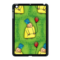 Party Kid A Completely Seamless Tile Able Design Apple Ipad Mini Case (black)