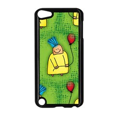 Party Kid A Completely Seamless Tile Able Design Apple iPod Touch 5 Case (Black)