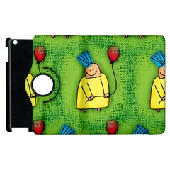 Party Kid A Completely Seamless Tile Able Design Apple iPad 2 Flip 360 Case