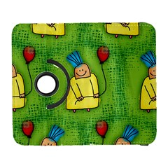 Party Kid A Completely Seamless Tile Able Design Galaxy S3 (flip/folio)
