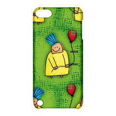 Party Kid A Completely Seamless Tile Able Design Apple iPod Touch 5 Hardshell Case with Stand