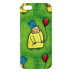 Party Kid A Completely Seamless Tile Able Design Apple iPhone 5 Premium Hardshell Case