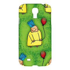 Party Kid A Completely Seamless Tile Able Design Samsung Galaxy S4 I9500/i9505 Hardshell Case