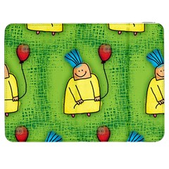 Party Kid A Completely Seamless Tile Able Design Samsung Galaxy Tab 7  P1000 Flip Case