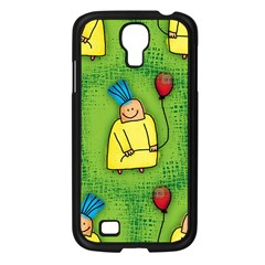 Party Kid A Completely Seamless Tile Able Design Samsung Galaxy S4 I9500/ I9505 Case (black)