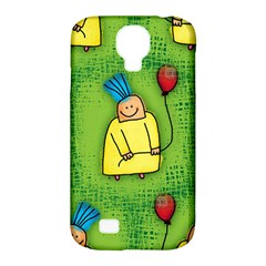 Party Kid A Completely Seamless Tile Able Design Samsung Galaxy S4 Classic Hardshell Case (PC+Silicone)