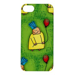 Party Kid A Completely Seamless Tile Able Design Apple iPhone 5S/ SE Hardshell Case