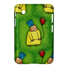 Party Kid A Completely Seamless Tile Able Design Samsung Galaxy Tab 2 (7 ) P3100 Hardshell Case