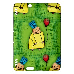 Party Kid A Completely Seamless Tile Able Design Kindle Fire HDX Hardshell Case