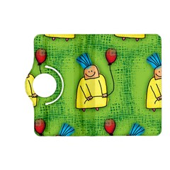 Party Kid A Completely Seamless Tile Able Design Kindle Fire HD (2013) Flip 360 Case