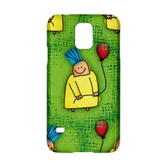 Party Kid A Completely Seamless Tile Able Design Samsung Galaxy S5 Hardshell Case