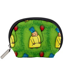 Party Kid A Completely Seamless Tile Able Design Accessory Pouches (small)