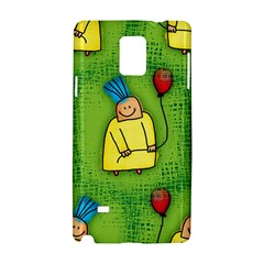 Party Kid A Completely Seamless Tile Able Design Samsung Galaxy Note 4 Hardshell Case