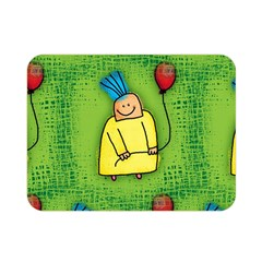 Party Kid A Completely Seamless Tile Able Design Double Sided Flano Blanket (Mini)