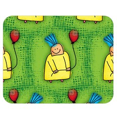 Party Kid A Completely Seamless Tile Able Design Double Sided Flano Blanket (medium)