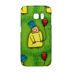 Party Kid A Completely Seamless Tile Able Design Galaxy S6 Edge