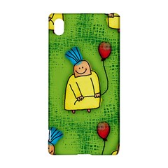 Party Kid A Completely Seamless Tile Able Design Sony Xperia Z3+