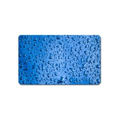 Water Drops On Car Magnet (name Card)