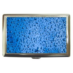 Water Drops On Car Cigarette Money Cases