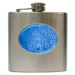 Water Drops On Car Hip Flask (6 oz)