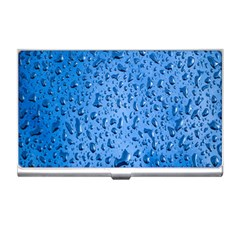 Water Drops On Car Business Card Holders