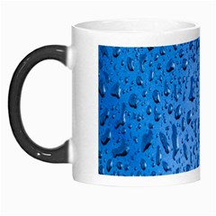 Water Drops On Car Morph Mugs