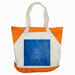 Water Drops On Car Accent Tote Bag