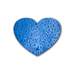 Water Drops On Car Heart Coaster (4 pack)