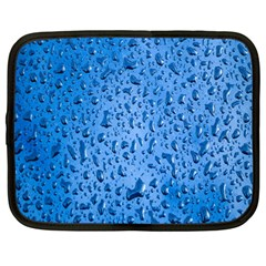 Water Drops On Car Netbook Case (Large)