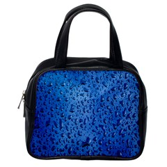 Water Drops On Car Classic Handbags (One Side)