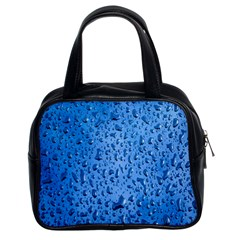 Water Drops On Car Classic Handbags (2 Sides)