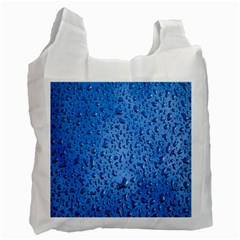 Water Drops On Car Recycle Bag (One Side)