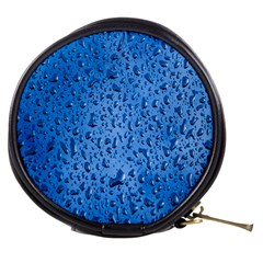 Water Drops On Car Mini Makeup Bags