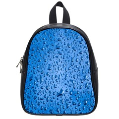 Water Drops On Car School Bags (Small)