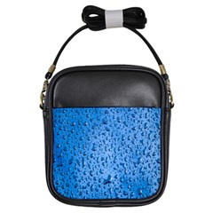 Water Drops On Car Girls Sling Bags
