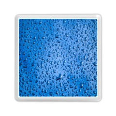 Water Drops On Car Memory Card Reader (square)