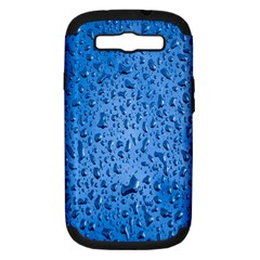 Water Drops On Car Samsung Galaxy S III Hardshell Case (PC+Silicone)