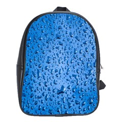 Water Drops On Car School Bags (xl)