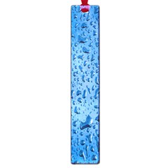 Water Drops On Car Large Book Marks