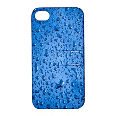 Water Drops On Car Apple Iphone 4/4s Hardshell Case With Stand