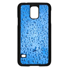 Water Drops On Car Samsung Galaxy S5 Case (black)