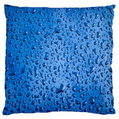 Water Drops On Car Standard Flano Cushion Case (Two Sides)