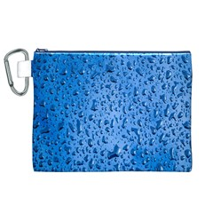 Water Drops On Car Canvas Cosmetic Bag (XL)