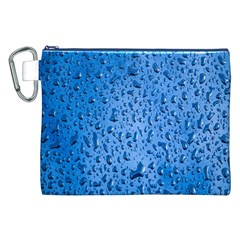 Water Drops On Car Canvas Cosmetic Bag (xxl)