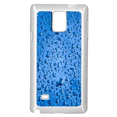 Water Drops On Car Samsung Galaxy Note 4 Case (White)