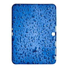 Water Drops On Car Samsung Galaxy Tab 4 (10 1 ) Hardshell Case