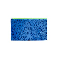 Water Drops On Car Cosmetic Bag (XS)